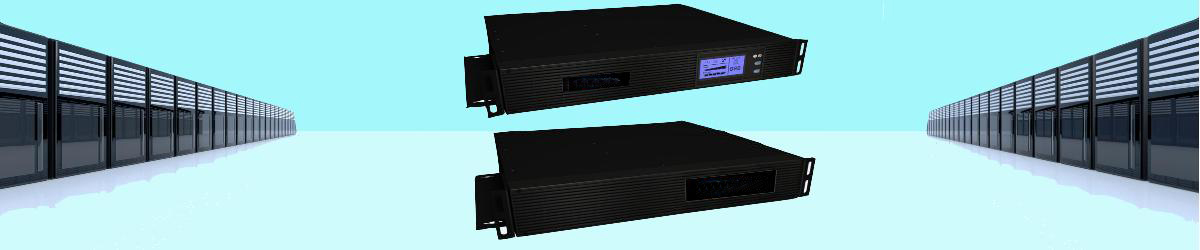 Online-USV-Anlagen in 19 Zoll Technik bis 3 kVA