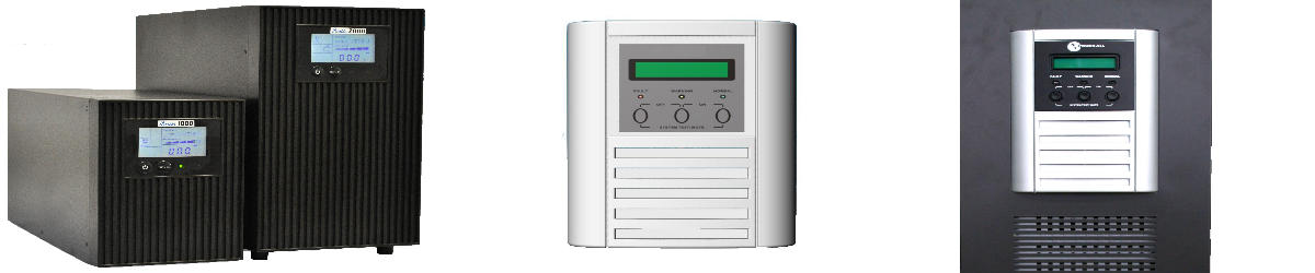 Online-USV-Anlagen im Towergehäuse bis 3 kVA