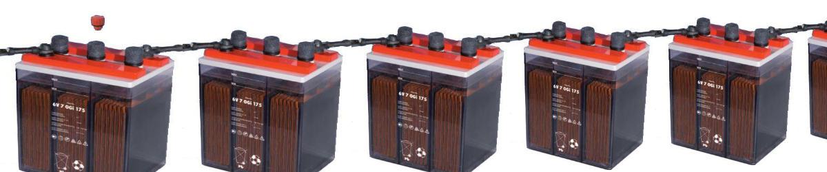 OGi Batterien wartungsarme, geschlossene Bleibatterie