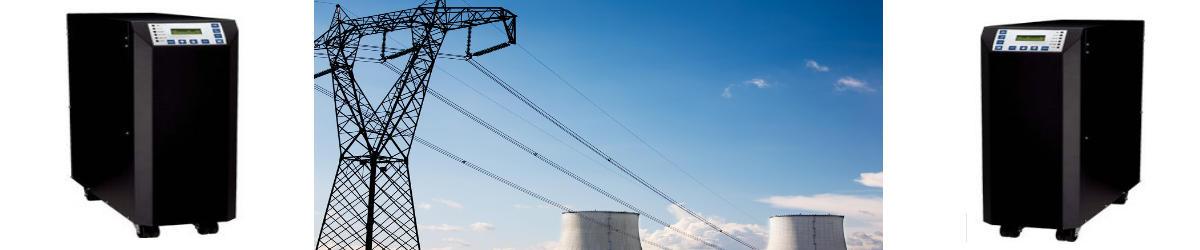 Online-USV-Anlagen 6 kVA bis 15 kVA 1/1